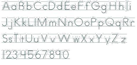 print lined font 13 educational fonts for kindergarten images alphabet