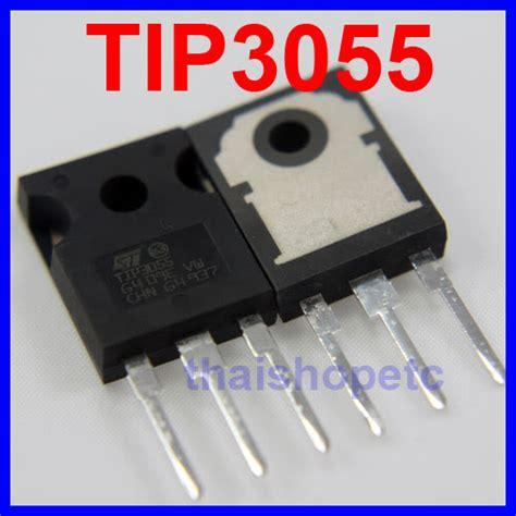 tip 3055 npn transistor 2 pcs tip3055 tip 3055 transistor npn 60v 15a