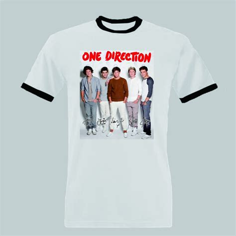 T Shirt I One Direction one direction shirt on the road again tour t shirt