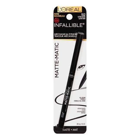 Loreal Infallible Gel Eyeliner l oreal 174 infallible matte matic eyeliner target