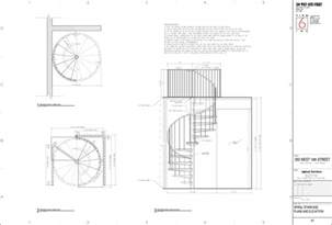 Floor Plans With Spiral Staircase spiral staircase for a duplex in chelsea juan carlos