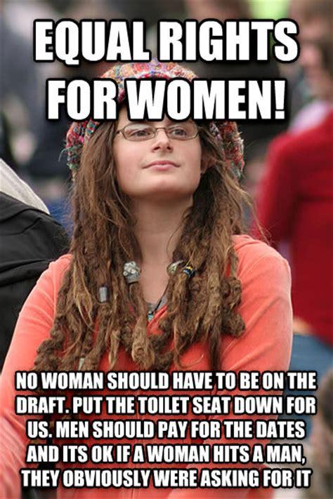 Meme For Women - livememe com college liberal