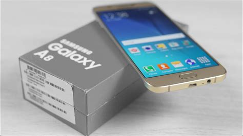 samsung galaxy a8 unboxing on
