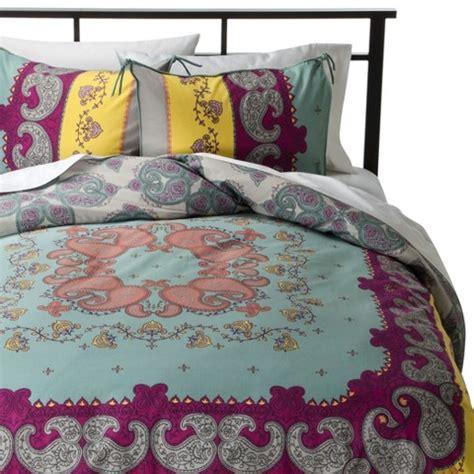 target boho bedding lola reversible duvet cover set multicolor boh target