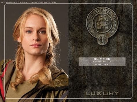 hunger games hairstyles glimmer the 12 districts of panem their roles and their tributes