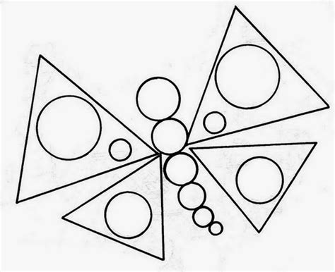 figuras geometricas simples los dibujos con figuras geom 233 tricas para ni 241 os les sirve