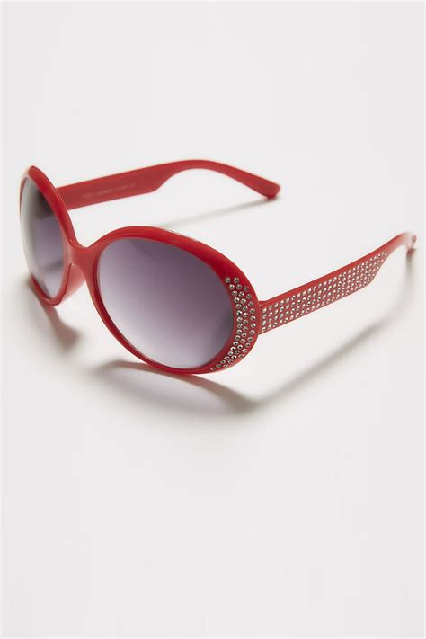 Sunglasses C740 Black sunglasses with diamante detail uv protection