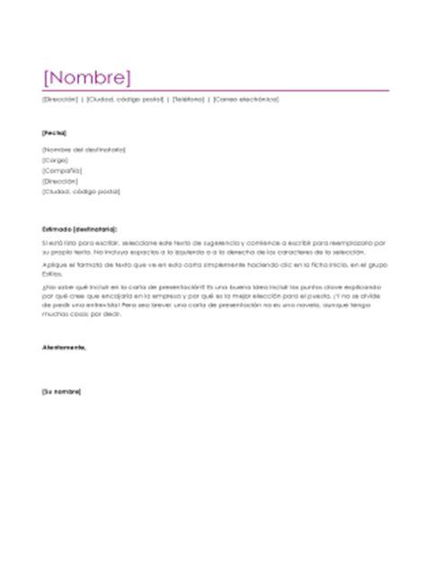 Plantillas De Curriculum Vitae Y Cartas De Presentacion Carta De Presentaci 243 N Con Curr 237 Culum V 237 Tae Violeta Office Templates