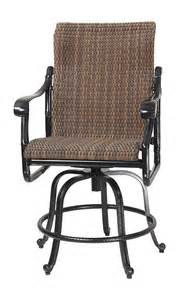 san marino by gensun woven high back patio furniture
