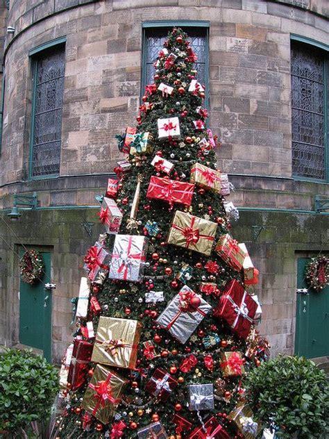 christmas tree at the dome edinburgh scotland 2008