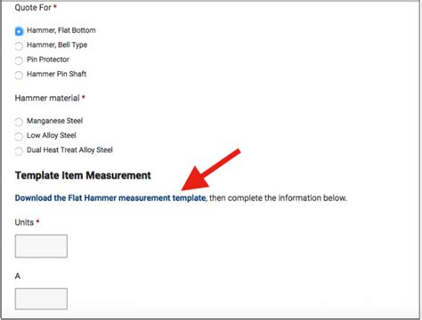 Manufacturers Make Your Rfq Form Part Of Your Sales Process Rfq Template Manufacturing