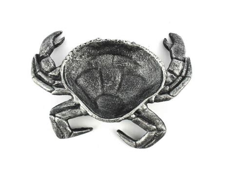 cast iron home decor buy antique silver cast iron crab decorative bowl 7 inch
