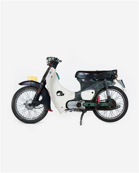 Lu Senja Honda C50 C70 C90 honda c50 zwart 183 fourstrokebarn