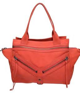 Botkier Limited Edition Bryant Bag by Botkier Leather Trigger Satchel In Orange
