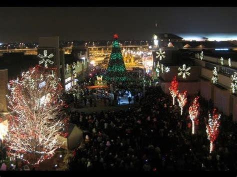 best christmas lights bolingbrook the promenade s popular light show symphony in lights promenade bolingbrook