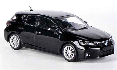 lexus car black lexus ct200h black 2011 minichs diecast model car 1 43