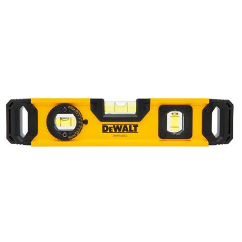 home depot paint levels dewalt 9 in torpedo level dwht43003 the home depot