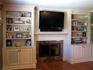 built in entertainment center with fireplace woodworking