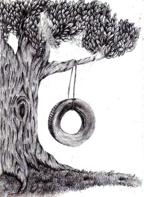 tree swing tree swing by balloonbear on deviantart