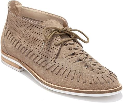 dolce vita oxford shoes dolce vita fio leather oxfords in beige lyst