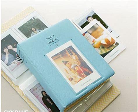 Fujifilm Instax Mini 3 Packs Sky Blue Black And Plain sunreek 3 pack 64 pockets photo album for mini fujifilm