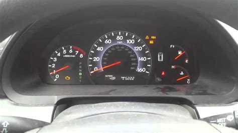 Vtm 4 Light And Check Engine Light On Honda Pilot Honda
