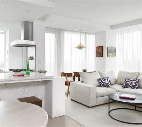Scandinavian Modern Condominium   Scandinavian   Living