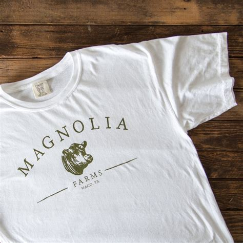 magnolia gaines magnolia farms shirt magnolia chip joanna gaines
