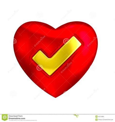 Acceptance Letter Clipart Cora 231 227 O Vermelho 237 Cone Do Tiquetaque 3d Do Ouro Sim Ilustra 231 227 O Stock Imagem 43715360