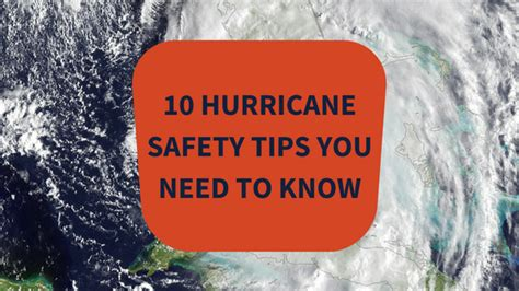 10 Tricks You Need To by 10 Hurricane Safety Tips You Need To This Sesaon