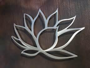 Lotus Flower Decor Lotus Flower Metal Wall Lotus Metal Home Decor