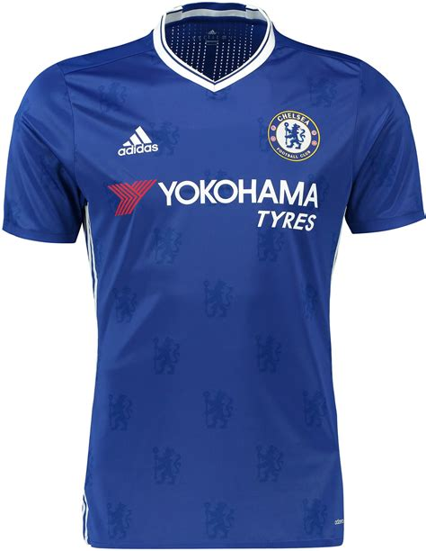 Chelsea Kits | chelsea 16 17 home kit released footy headlines