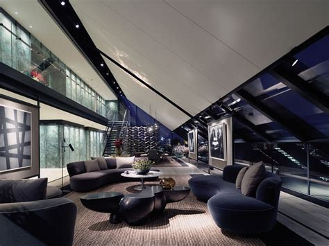 modern luxury penthouses fantastic penthouse crowns a luxury complex modern house designs