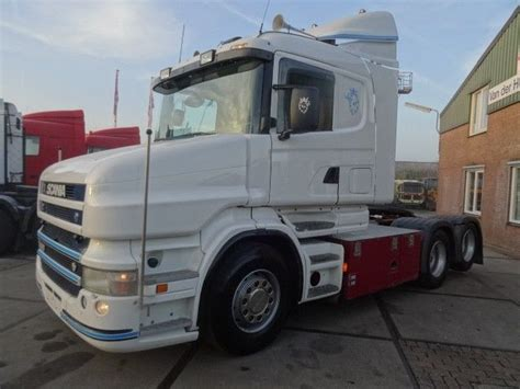 scania t500 6x2 v8 tractor unit from netherlands for sale