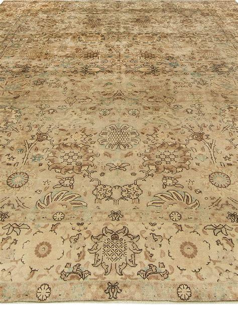 persische teppiche antike persische tabriz teppich bb6857 doris leslie blau