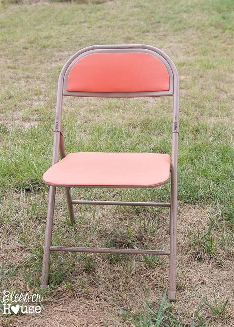 how to make a folding chair look pretty popsugar home