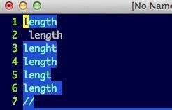 vim regex pattern not found regex find all word non matching pattern in vim stack