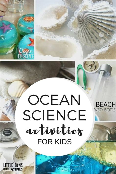 10 awesome beach themed projects for a vacation like feel ocean science activities and experiments for kids