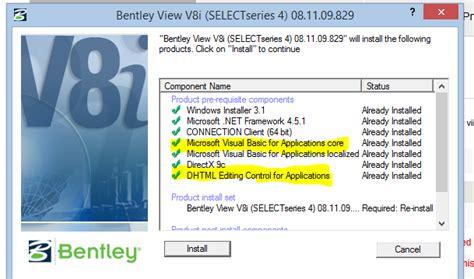 bentley view v8i bentley view v8i silent installer littlededal