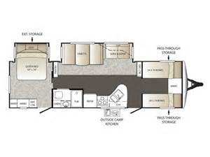 keystone travel trailer floor plans 2014 outback 301bq floor plan travel trailer keystone rv