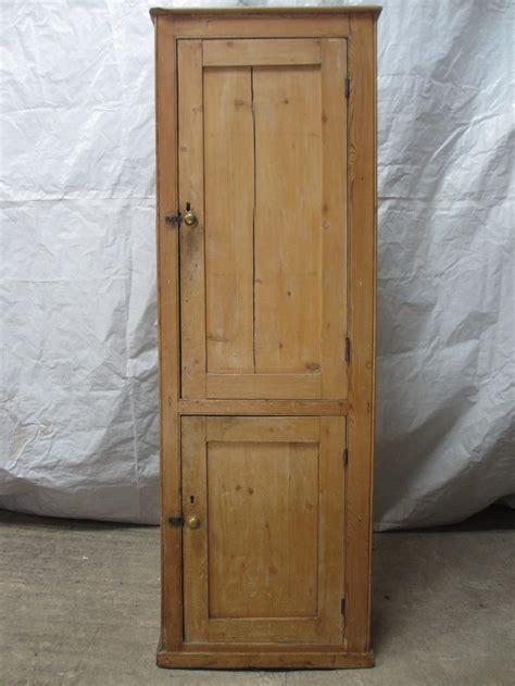Pine Cupboard 19th Century 2 Door Pine Cupboard Cabinet 261938