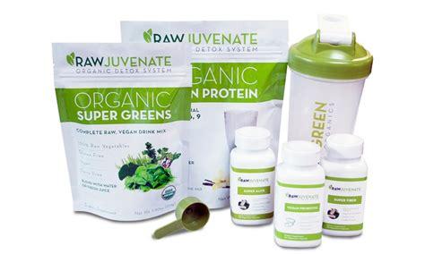 Rawjuvenate Detox Review by Organic Detox System Green Organics Livingsocial