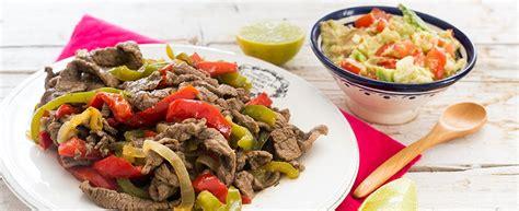 cucinare il manzo ricetta fajitas di manzo cucina messicana agrodolce