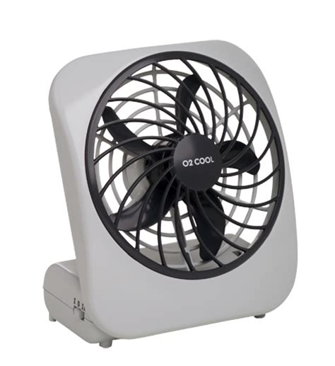 o2 cool battery operated 5 quot fan