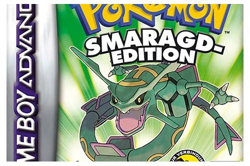 pokemon herunterladen pc smaragd edition