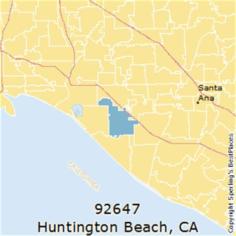 zip code map huntington beach ca best places to live in huntington beach zip 92647