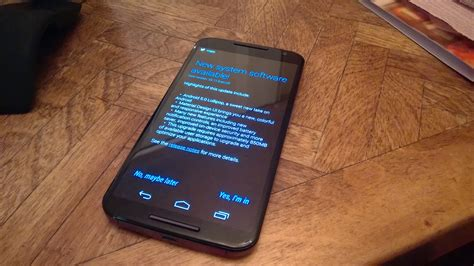 android moto x android lollipop on the moto x 2014 impressions