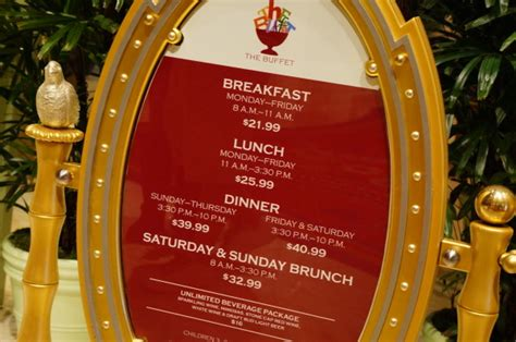 Review The Buffet At The Wynn Hotel Las Vegas The Buffets In Las Vegas Prices