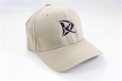 Dr Derick Khaki dr logo flexfit hat khaki rougeau knives