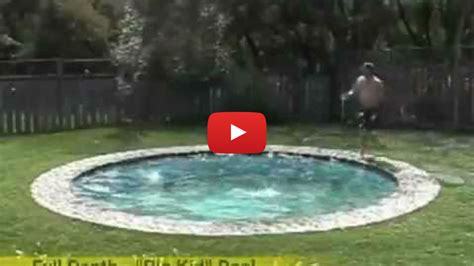 hidden backyard pool amazing secret convertible swimming pool every house must
